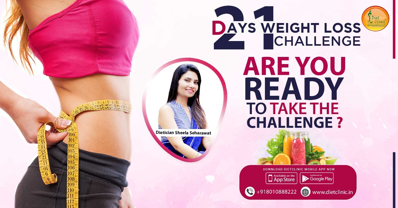 21 days weight loss challenge