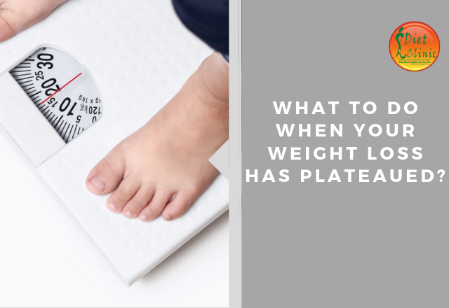 What to do when your weight loss has plateaued?