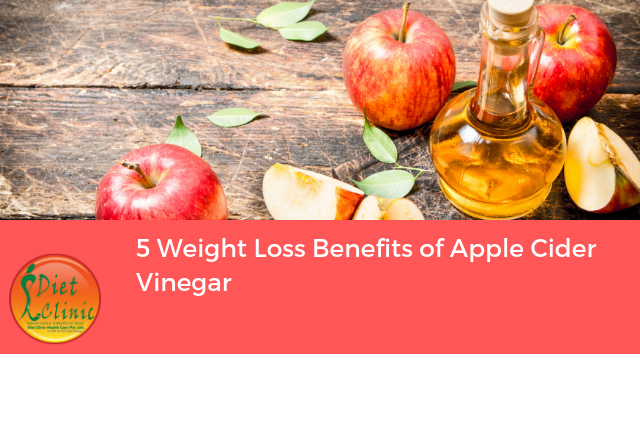 5 Weight Loss Benefits of Apple Cider Vinegar