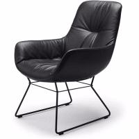 Leya Cocktail Lounge Chair (sled base) by freifrau