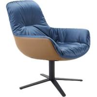 Leya Cocktail Lounge Chair (swivel base) by freifrau