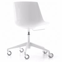 Flow Chair (5 star castors) by mdf italia