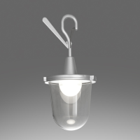 Tolomeo Lampione Outdoor Hook by Artemide