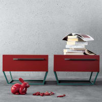 To Be (bedside table, trapezoidal) by Bonaldo