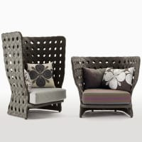 Canasta fauteuil (Outdoor) par B&B Italia Outdoor