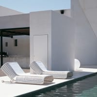Canasta lounger (outdoor) by B&B Italia