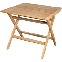 Flip Table 80x80 by Cane-line