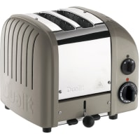 Classic Toaster 2 slot Toaster (grey) by Dualit