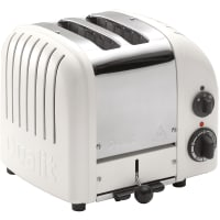 Classic Toaster 2 slot Toaster (white) by Dualit