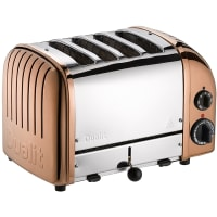 Classic Toaster 4 slot Toaster (copper) by Dualit