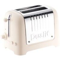 Lite grille-pain 2 tranches (crème) par Dualit