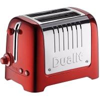 Lite grille-pain 2 tranches (Rouge) par Dualit
