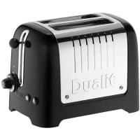 Lite grille-pain 2 tranches (Noir) par Dualit