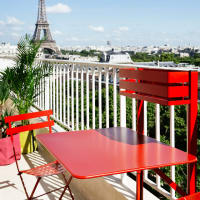 Bistro (balcony table) by Fermob