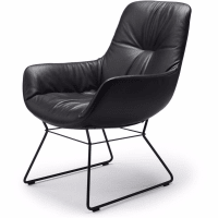 Leya Cocktail Lounge Chair (Kufen) von freifrau