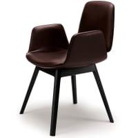 Tilda armchair (wood) by freifrau