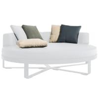 circular bed cushions by gandia blasco