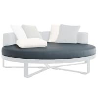 circular bed upholstery by gandia blasco