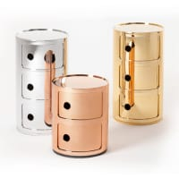 Componibili (metallized) by kartell