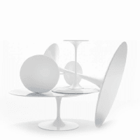 Saarinen Tulip Esstisch (Laminat) von knoll international