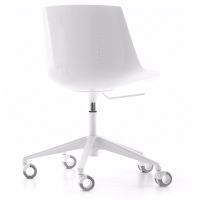 Flow Chair (5 star castors) by mdf italia