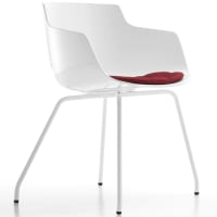 Flow Slim (4 legs) by mdf italia