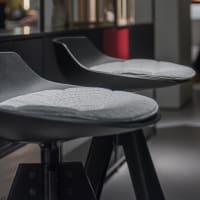 Flow Stool (seat pad) by mdf italia