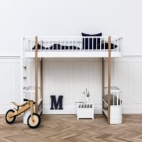 Loft Bed Wood by oliver furniture
