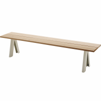 Overlap bench by skagerak
