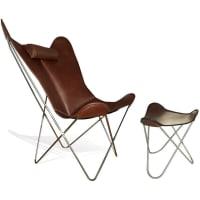 Hardoy - Grand Comfort Sessel und Hocker von Weinbaums