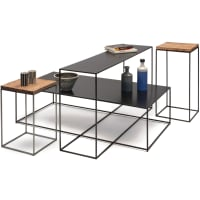 Slim Irony (side tables) by ZEUS