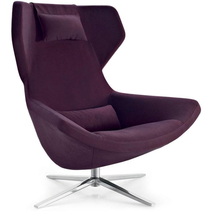 hochlehner sessel metropolitan 39 14 sternfu von b b italia. Black Bedroom Furniture Sets. Home Design Ideas