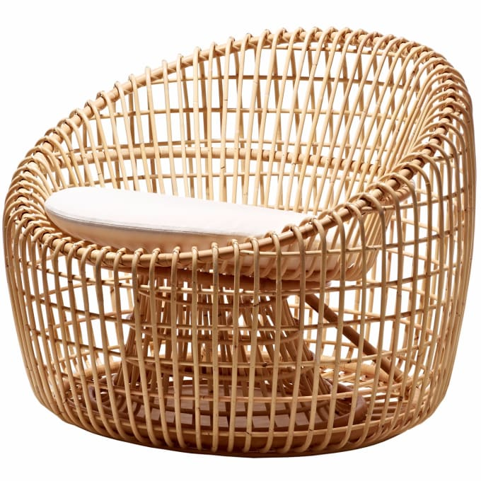 Lounge Chair Nest By Cane Line