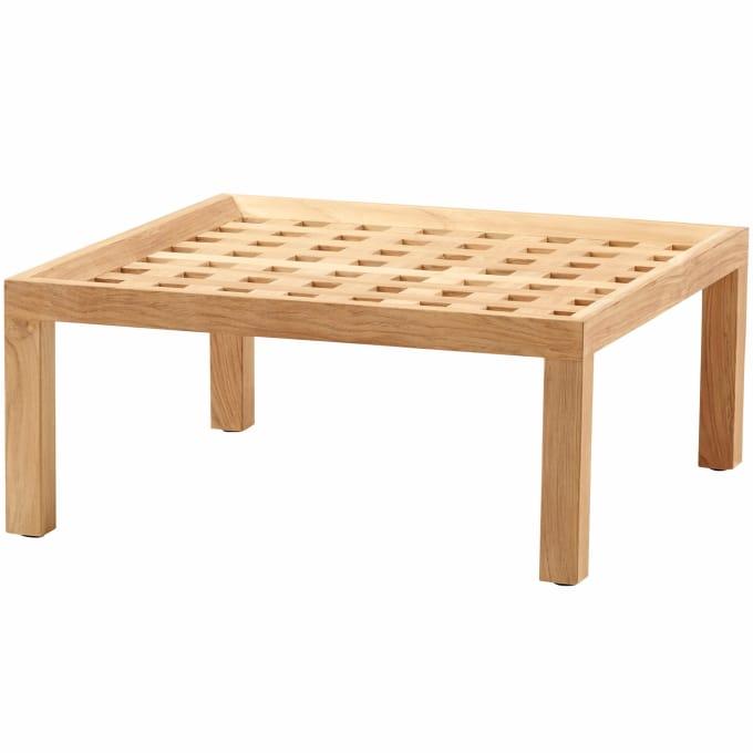 couchtisch hocker square von cane line. Black Bedroom Furniture Sets. Home Design Ideas