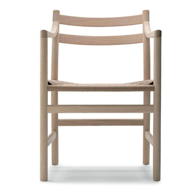 stuhl ch46 und armlehnstuhl ch47 von carl hansen. Black Bedroom Furniture Sets. Home Design Ideas