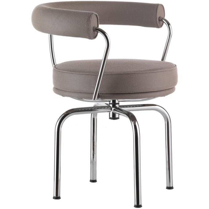 drehstuhl lc7 outdoor von cassina. Black Bedroom Furniture Sets. Home Design Ideas