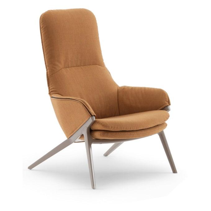p22 sessel von cassina. Black Bedroom Furniture Sets. Home Design Ideas