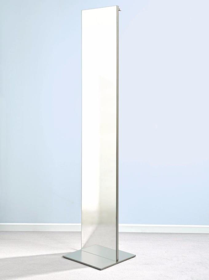 top s 33 standspiegel mit garderobenhaken von d tec. Black Bedroom Furniture Sets. Home Design Ideas