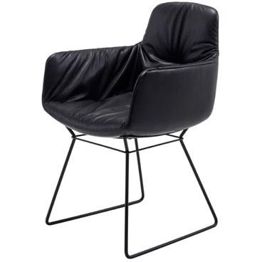Leya Arm High (metal) Armchair