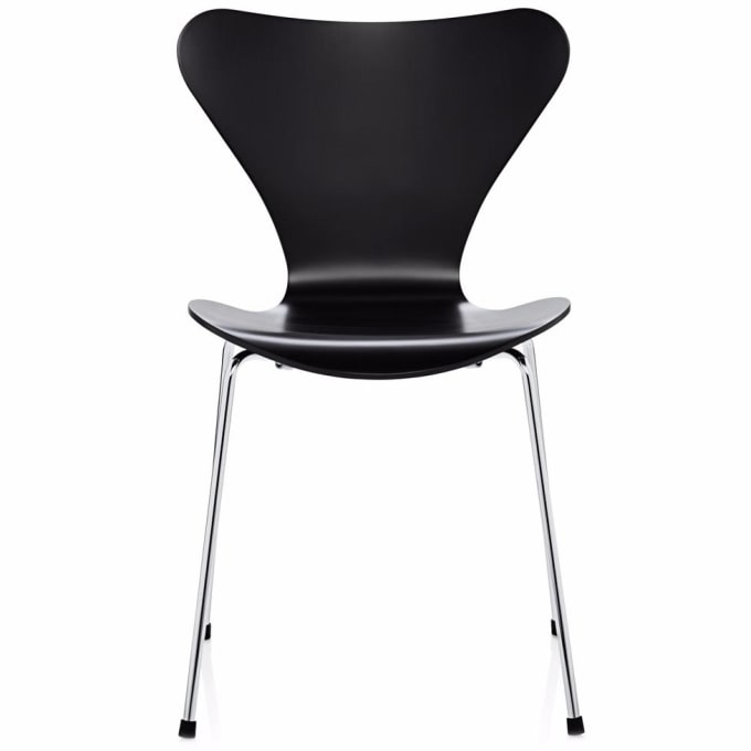 stuhl 3107 serie 7 von fritz hansen. Black Bedroom Furniture Sets. Home Design Ideas