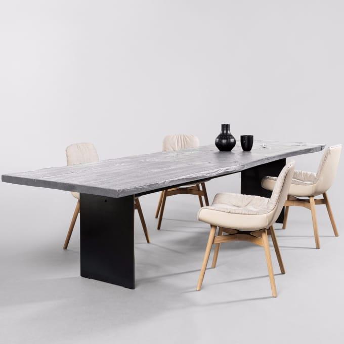 tisch sk08 butterfly geschlossen hell von janua. Black Bedroom Furniture Sets. Home Design Ideas
