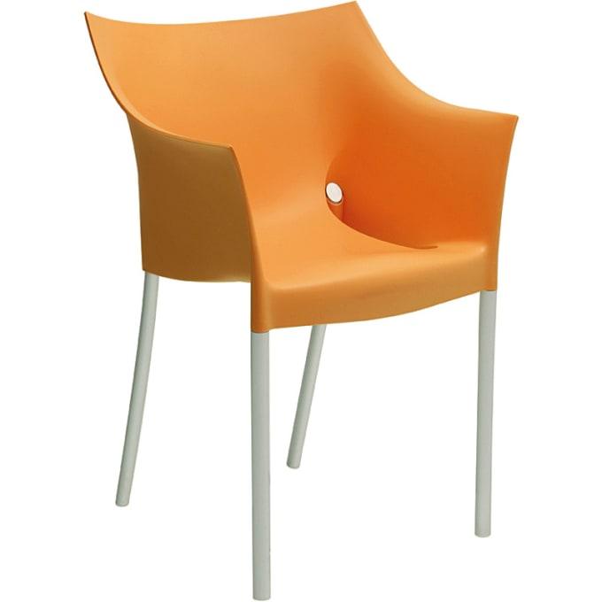 stuhl sessel dr no von kartell. Black Bedroom Furniture Sets. Home Design Ideas