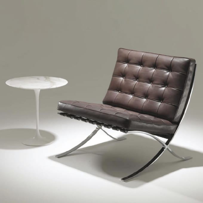 Sessel Barcelona Chair Relax Von Knoll International