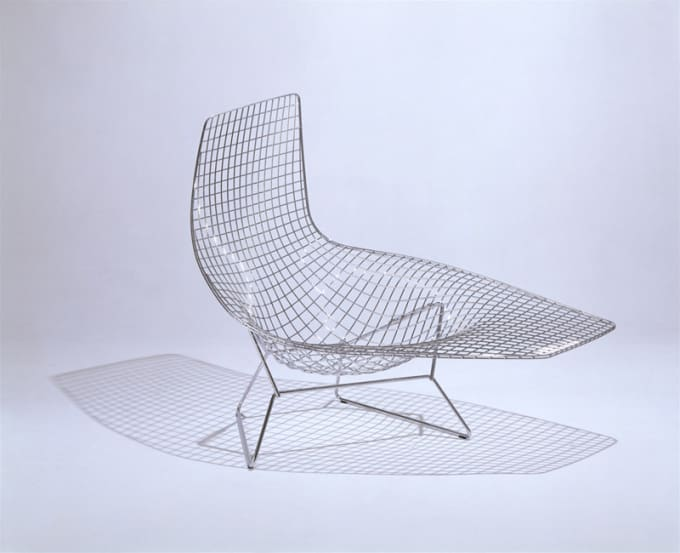 zoom gallery - Chaise Bertoia