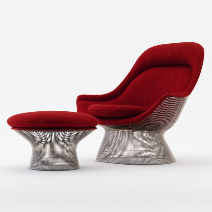 Peachy Platner Easy Chair Spiritservingveterans Wood Chair Design Ideas Spiritservingveteransorg