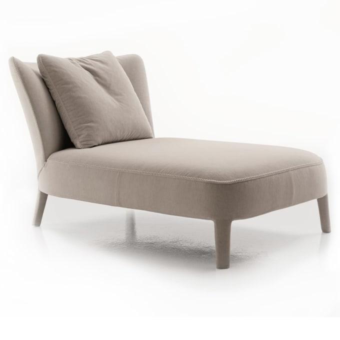 febo chaiselongue von maxalto. Black Bedroom Furniture Sets. Home Design Ideas