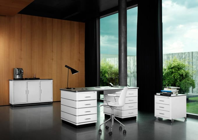 sideboard sb 123 von m ller m belfabrikation. Black Bedroom Furniture Sets. Home Design Ideas