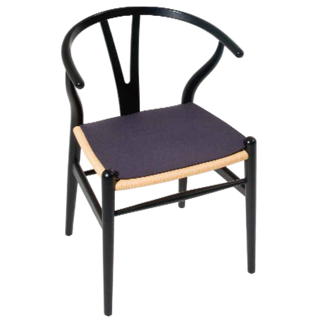 sitzkissen sfc 058 f r stuhl ch 24 wishbone chair. Black Bedroom Furniture Sets. Home Design Ideas