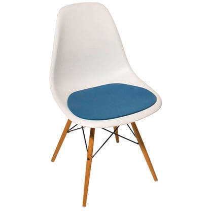 Seat Cushion Sfc 014 For Eames Side Chair, Eames Side Chair Pad