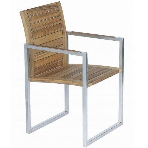 ninix 55 teak armlehnstuhl von royal botania. Black Bedroom Furniture Sets. Home Design Ideas